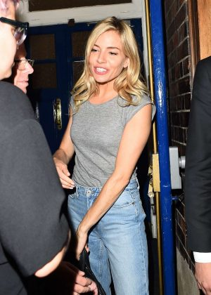 Sienna Miller -  Leaves Cat on a Hot Tin Roof in London