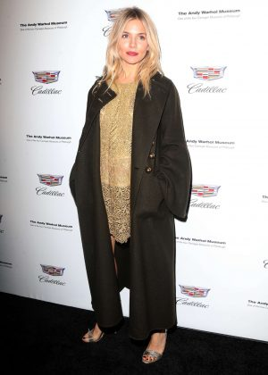Sienna Miller - 'Letters to Andy Warhol' Exhibition Opening in New York City
