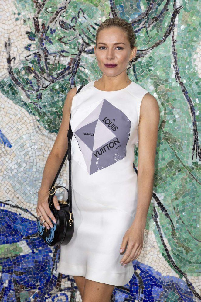Sienna Miller - Louis Vuitton 2019 Cruise Collection in Saint-Paul-De-Vence