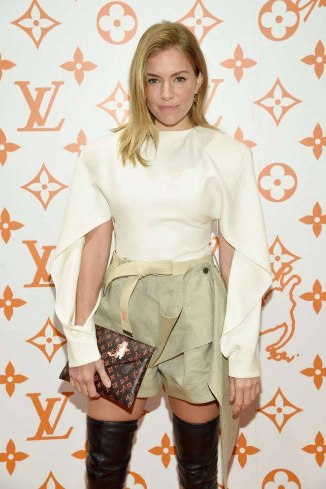 Sienna Miller - Louis Vuitton x Grace Coddington Event in NYC