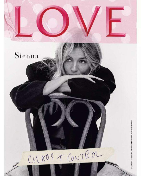 Sienna Miller - Love Magazine #23 (January/February 2020)