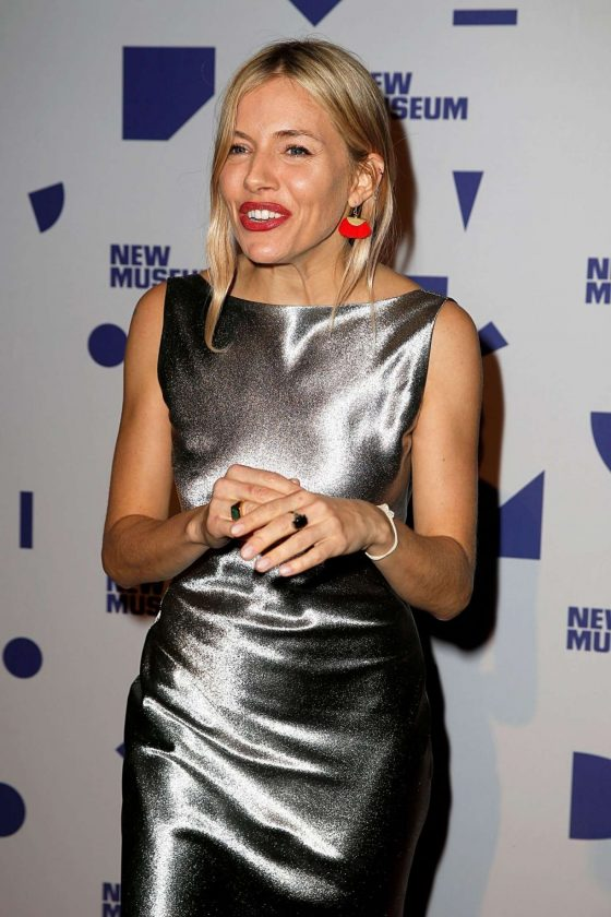 Sienna Miller - New Museum 2019 Spring Gala in NYC