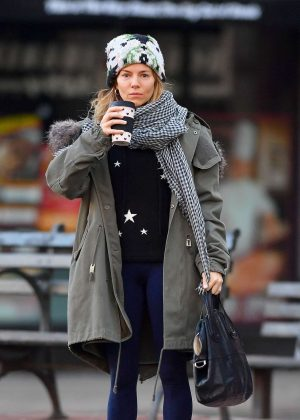 Sienna Miller - Out and about in New York
