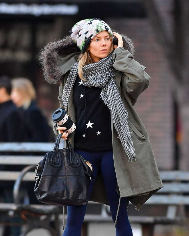 Sienna Miller – Out and about in New York