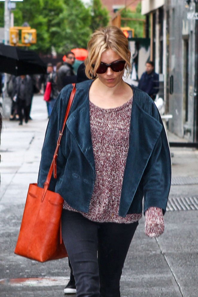 Sienna Miller – Out and about in Soho