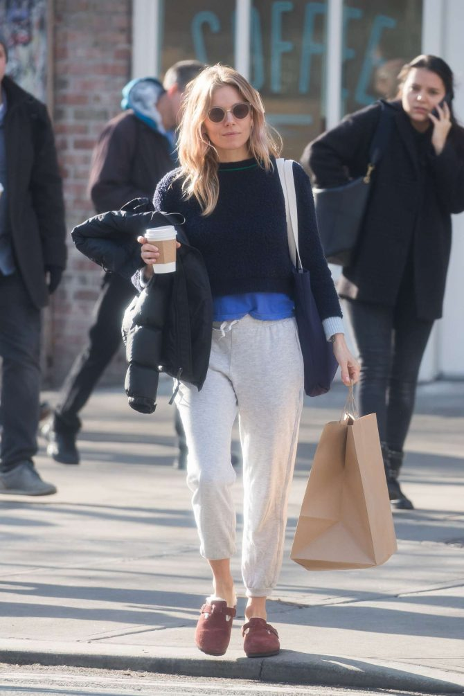 Sienna Miller – Out and about New York City