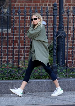 Sienna Miller out for breakfast in New York City