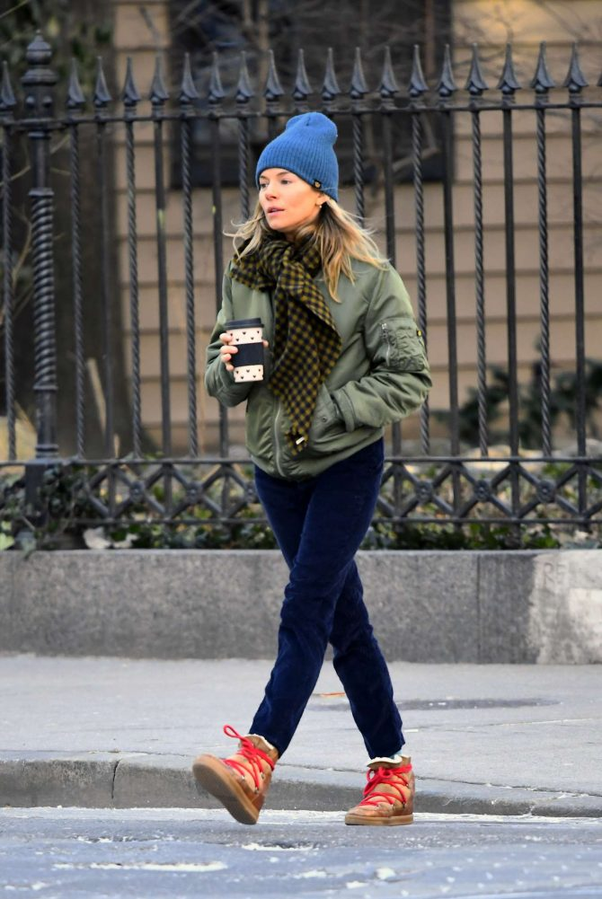 Sienna Miller: Out in New York -01