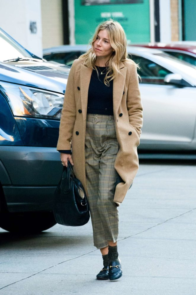 Sienna Miller – Out in New York