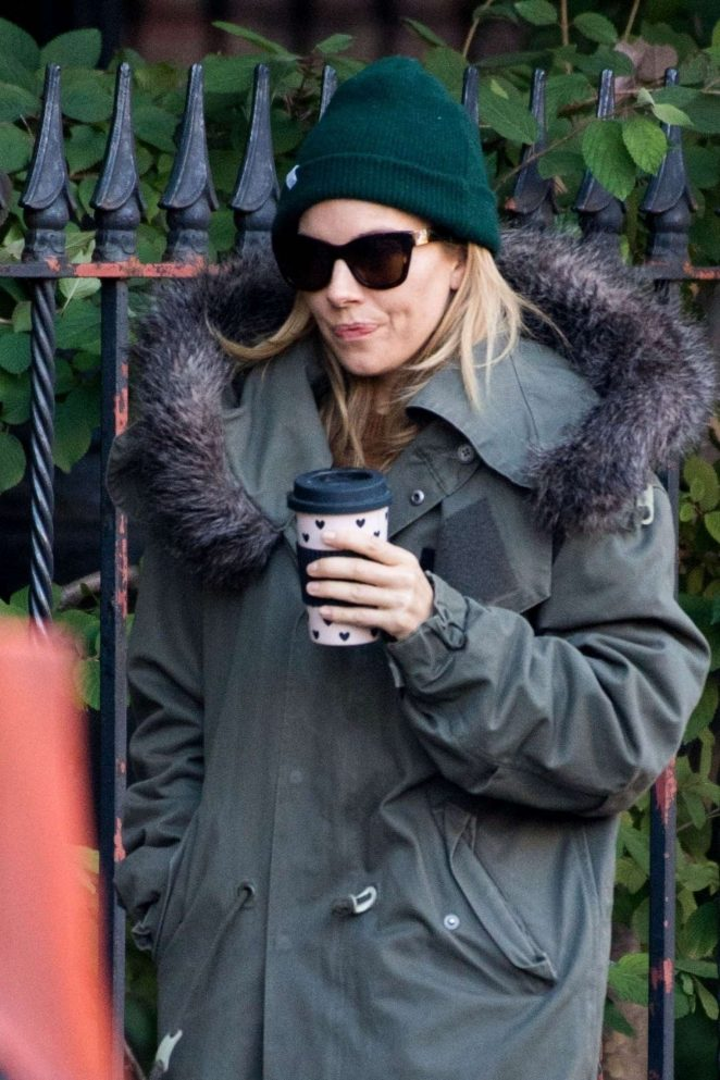 Sienna Miller – Out in NYC