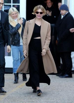 Sienna Miller - Ralph Lauren 2016 Fashion Show in NYC