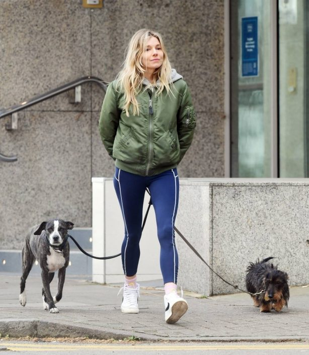 Sienna Miller - Seen on Mother's Day in London