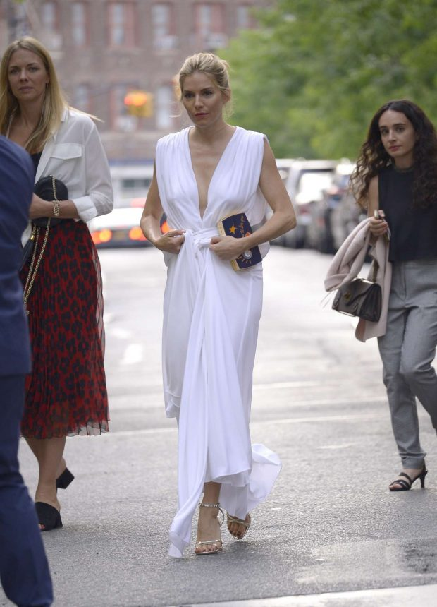 Sienna Miller - Stepping out for 'The Loudest Voice' Premiere in New York