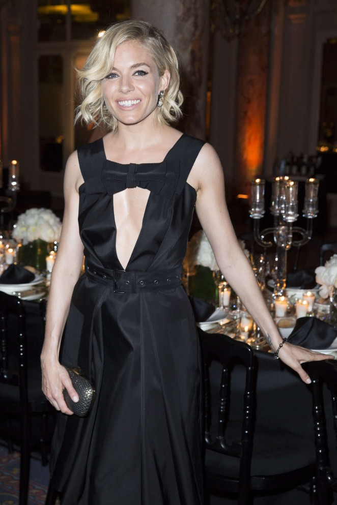 Sienna Miller – Swarovski & Hollywood Reporter Dinner in Cannes