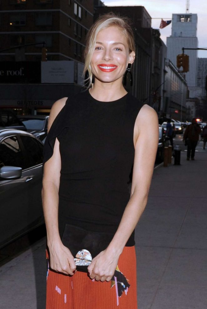 Sienna Miller - 'The Lost City of Z' Screening in New York City