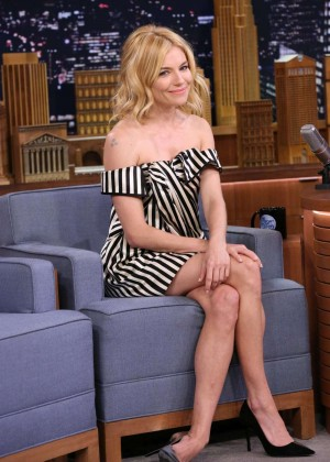 Sienna Miller - 'The Tonight Show Starring Jimmy Fallon' in NYC