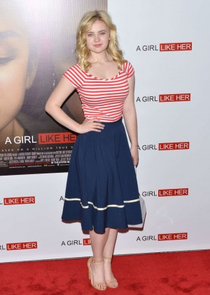 "Sierra McCormick  - ""A Girl Like Her"" Premiere in Hollywood"