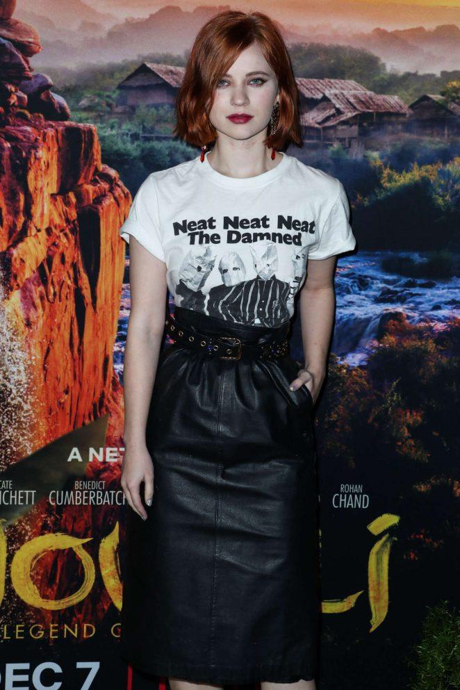 Sierra McCormick – 'Mowgli' Premiere in Los Angeles