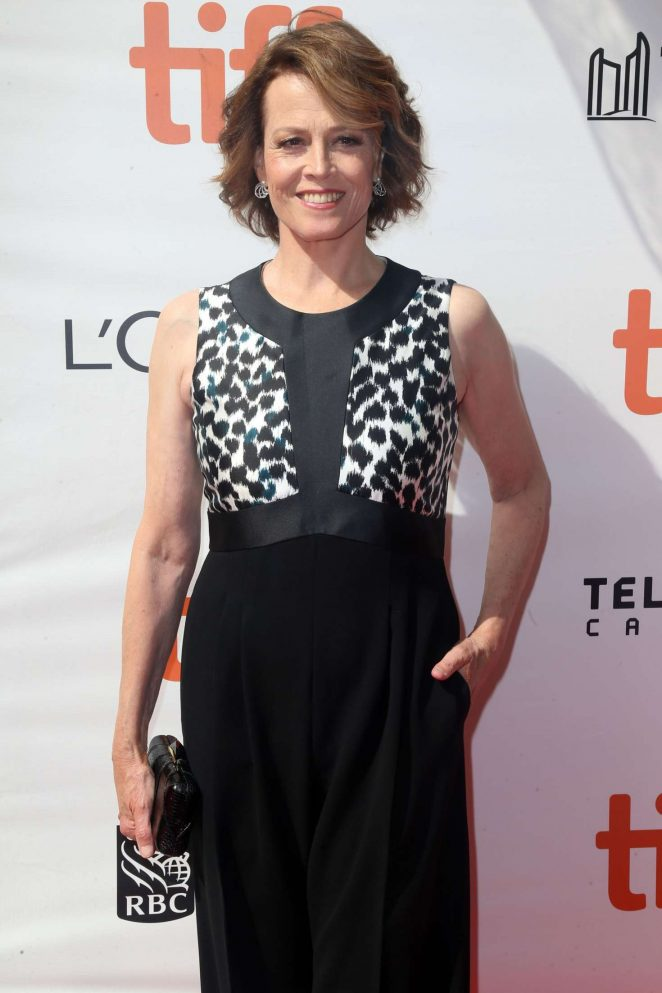 Sigourney Weaver - 'A Monster Calls' Premiere at 2016 Toronto International Film Festival