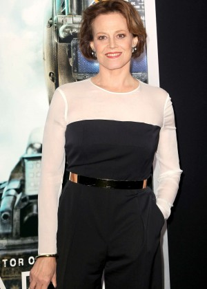 "Sigourney Weaver - ""Chappie"" Premiere in NYC"