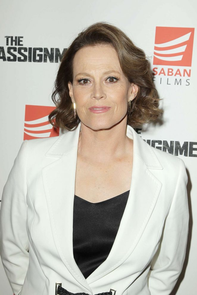 Sigourney Weaver - 'The Assignment' Screening in New York