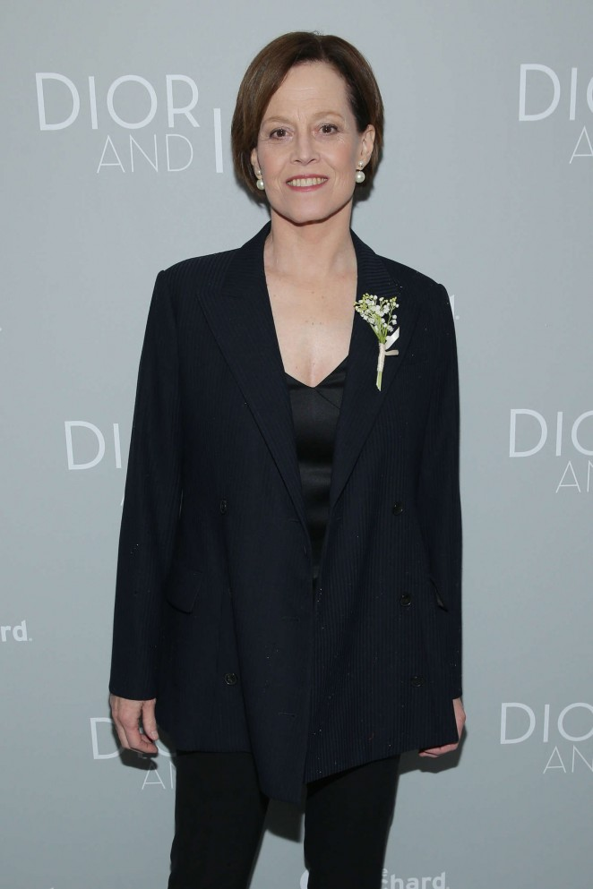 """Sigourney Weaver - """"The Orchard's DIOR & I"""" Screening in NYC"""