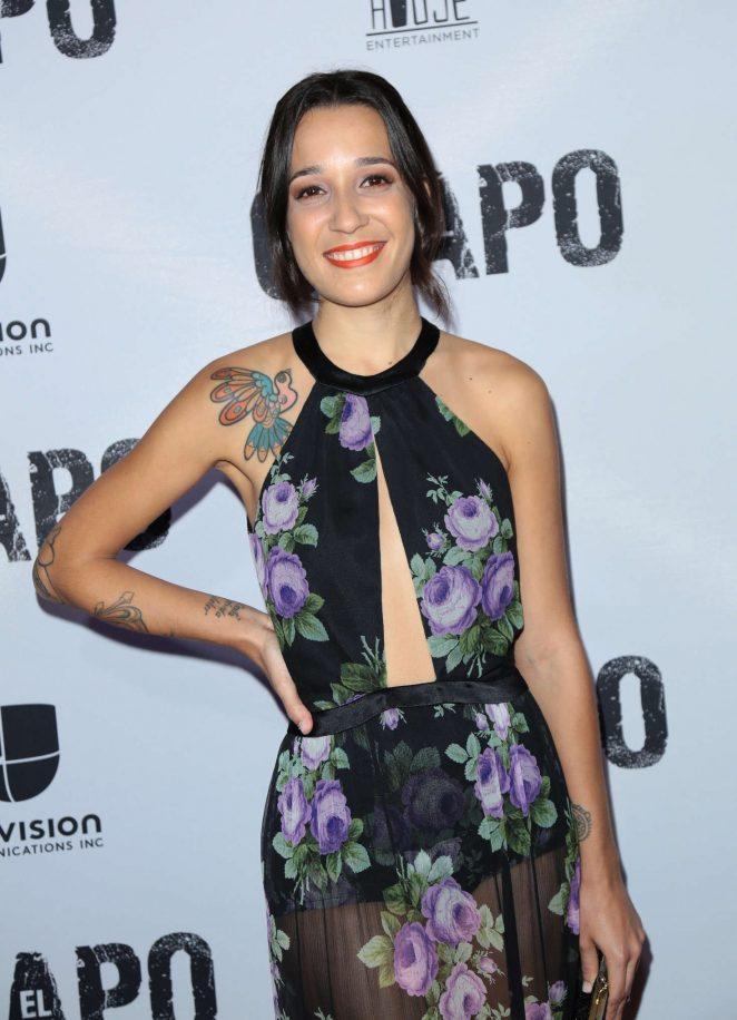 Silvana Aguirre - 'El Chapo' TV series Premiere in Los Angeles