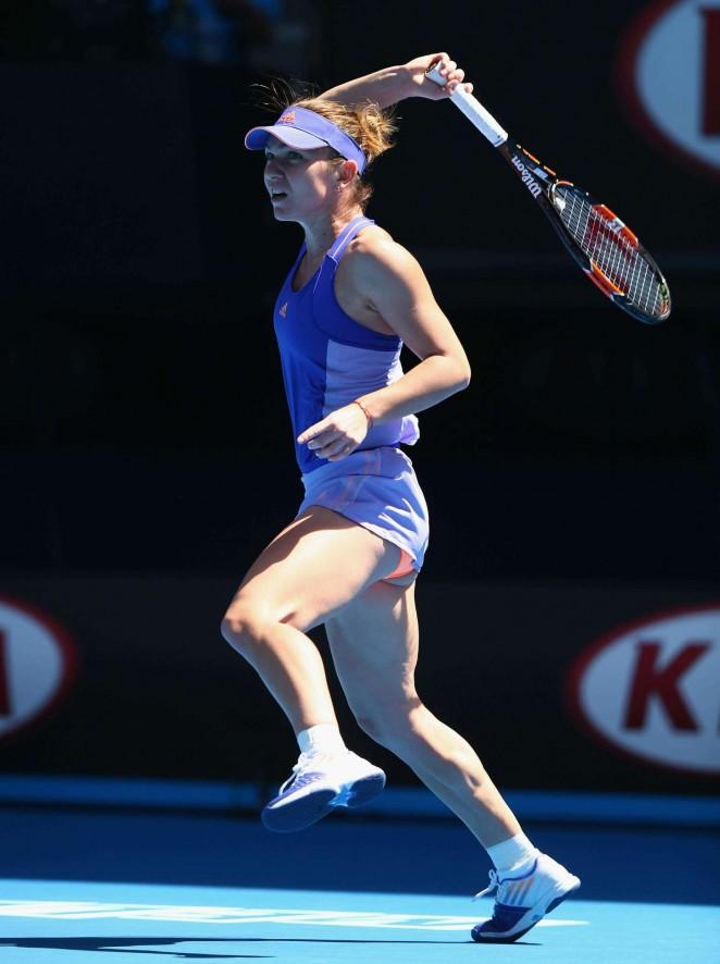 Simona Halep - 2015 Australian Open in Melbourne