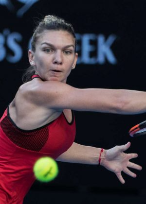 Simona Halep - 2018 Australian Open in Melbourne - Day 4