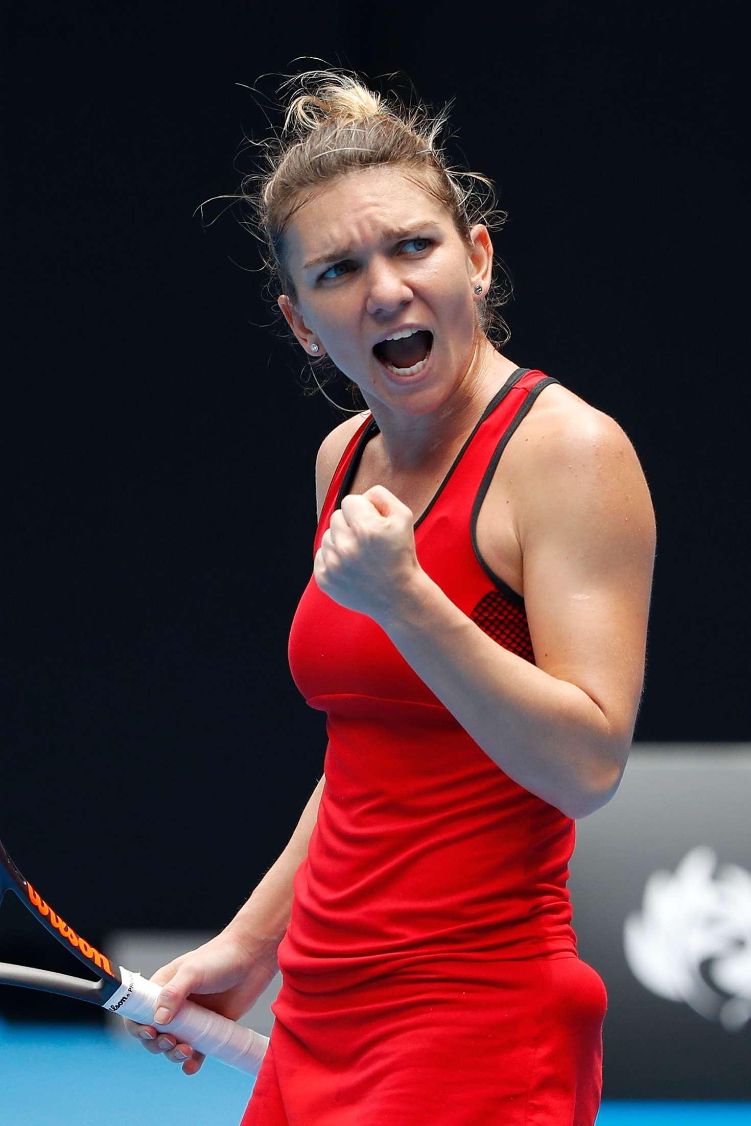 Simona Halep - 2020 Australian Open 01/21/2020 • CelebMafia