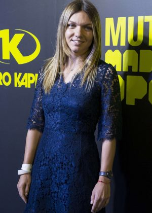 Simona Halep - Mutua Madrid Open Party at Teatro Kapital in Madrid