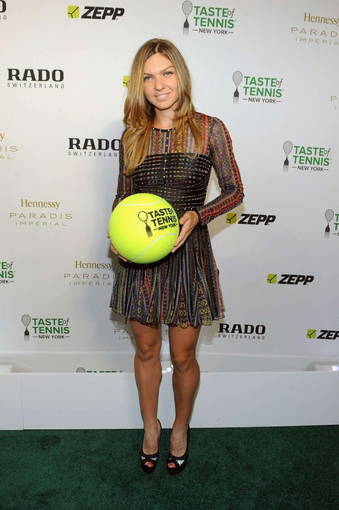 Back to post simona halep taste of tennis gala in nyc