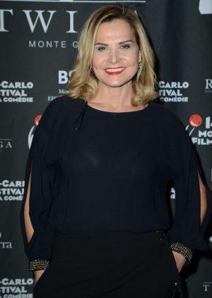 Simona Ventura - 14th MonteCarlo Film Festival de la Comedie Party Twiga in Monaco