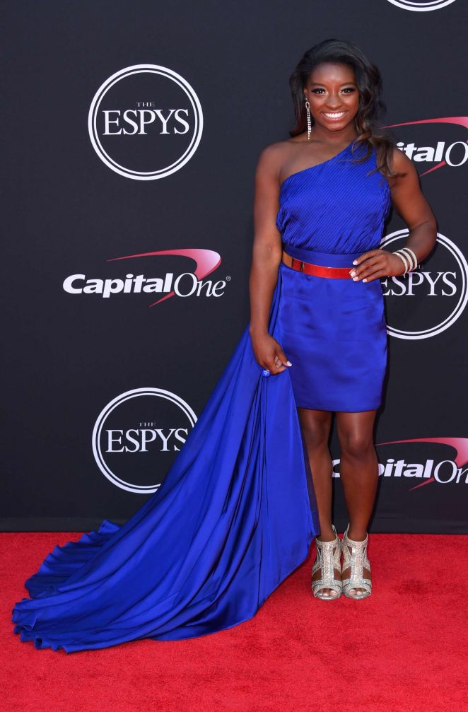 Simone Biles - 2017 ESPY Awards in Los Angeles