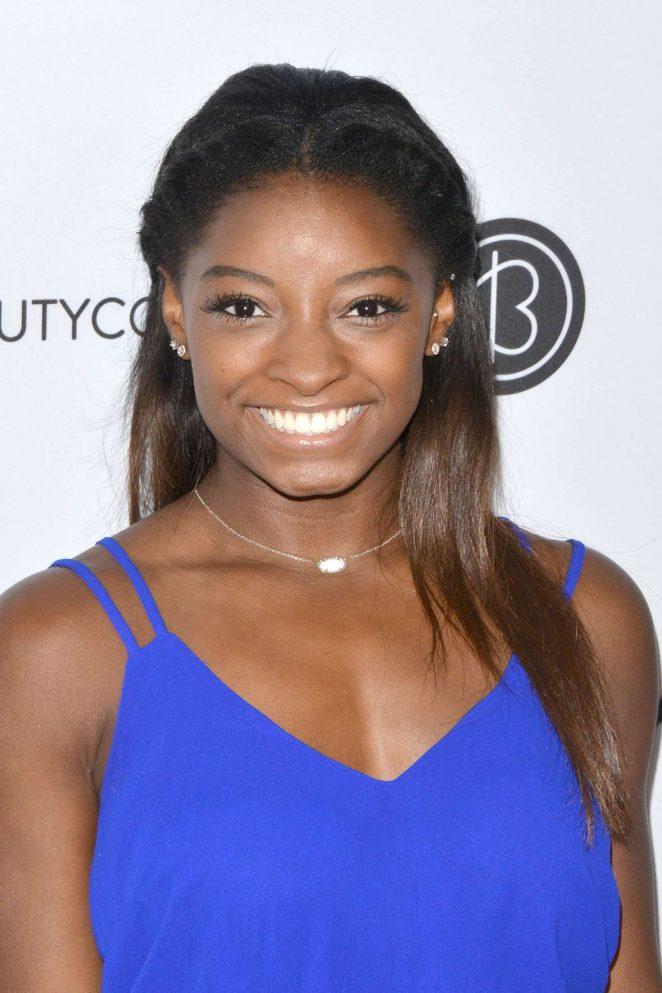 Simone Biles - 5th Annual Beautycon LA Convention Center in LA