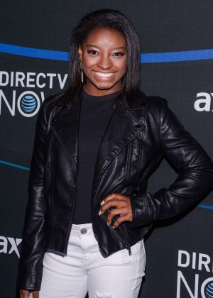 Simone Biles - DIRECTV NOW Super Saturday Night Concert in Houston