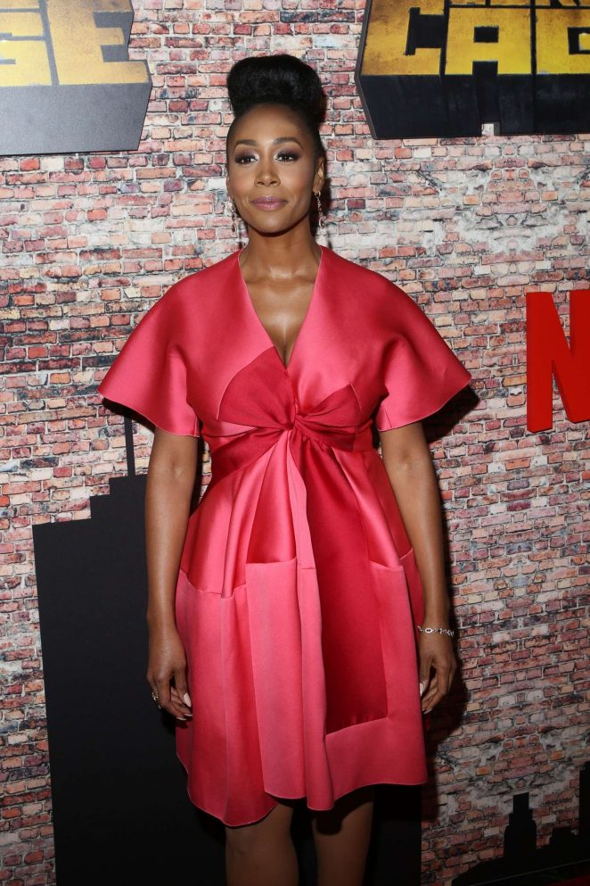 Simone Missick - 'Luke Cage' Premiere in New York