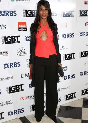 Sinitta - British LGBT Awards 2016 in London