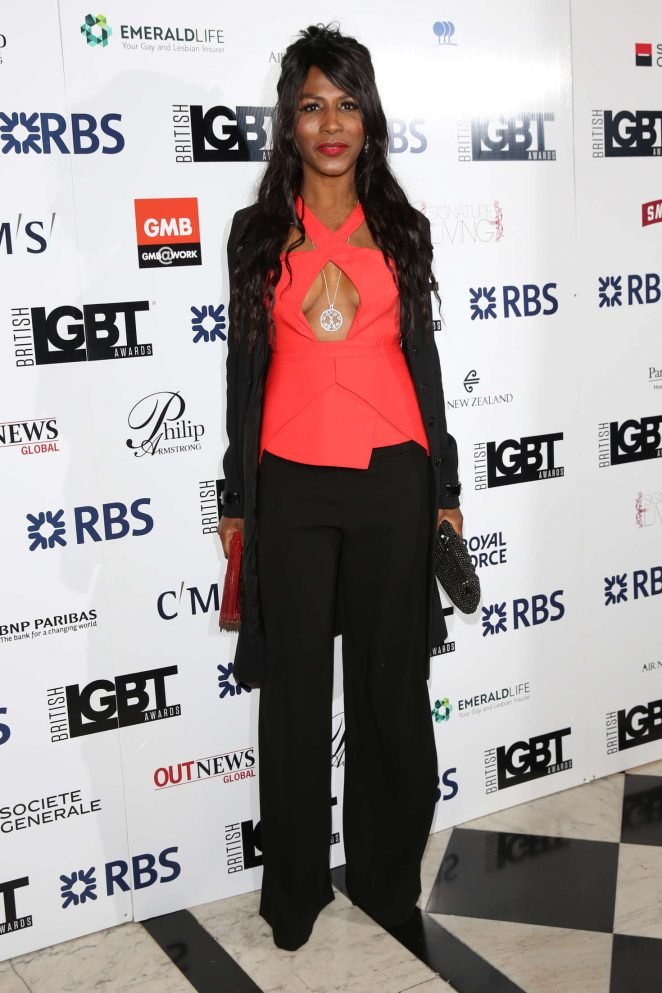 Sinitta – British LGBT Awards 2016 in London