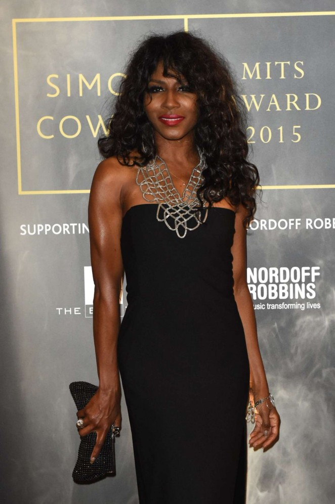 Sinitta - Music Industry Trust Awards 2015 in London