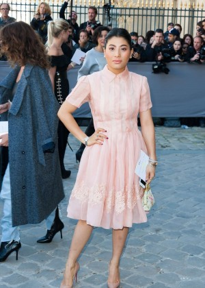 Siriwanwaree Nareerat - Christian Dior Show in Paris