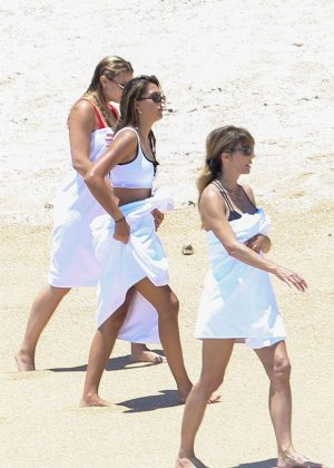 Sistine And Scarlet Stallone In Bikini In Cabo San Lucas