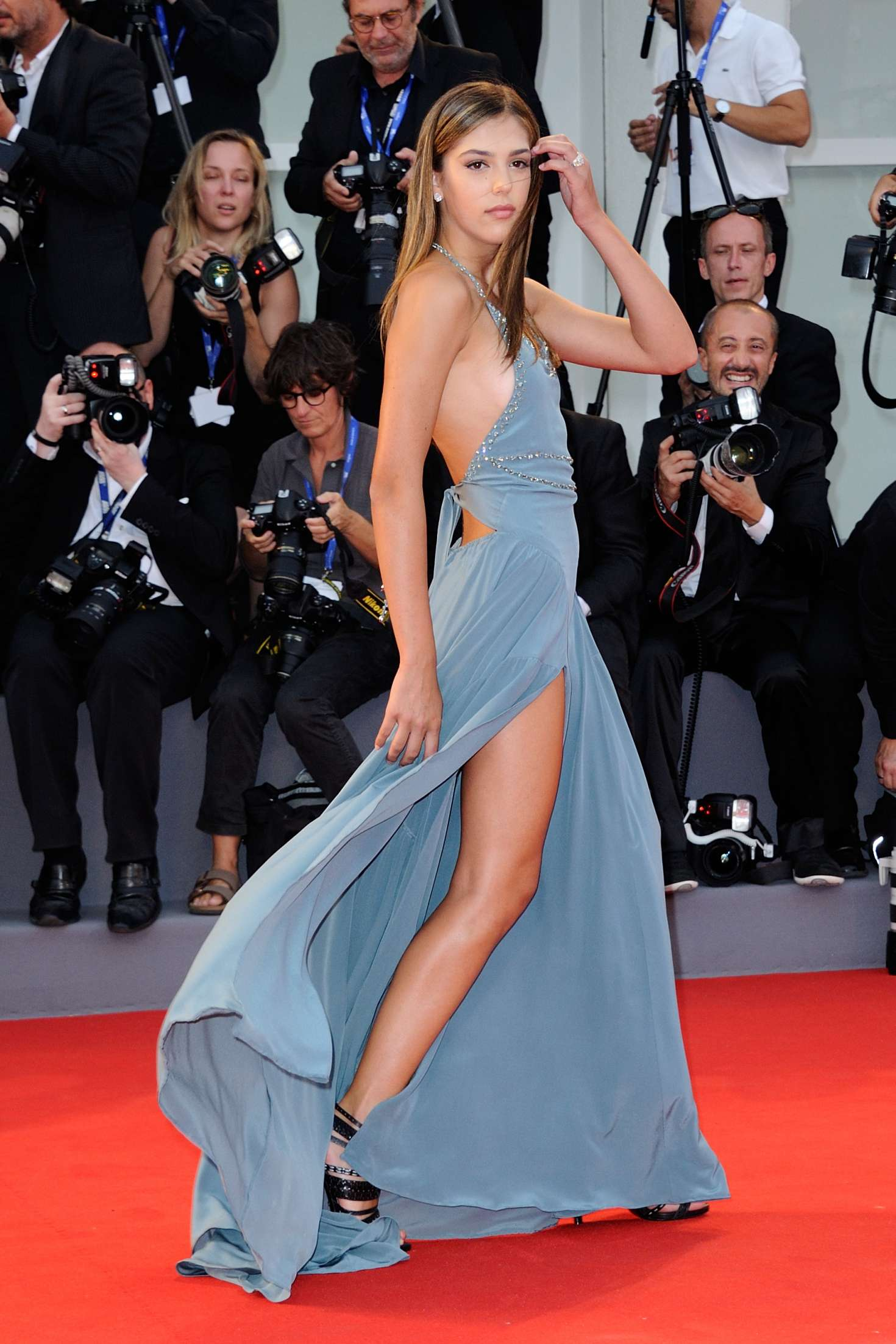 Sistine Rose Stallone Hacksaw Ridge Premiere At 73rd Venice Film Festival In Italy Indian