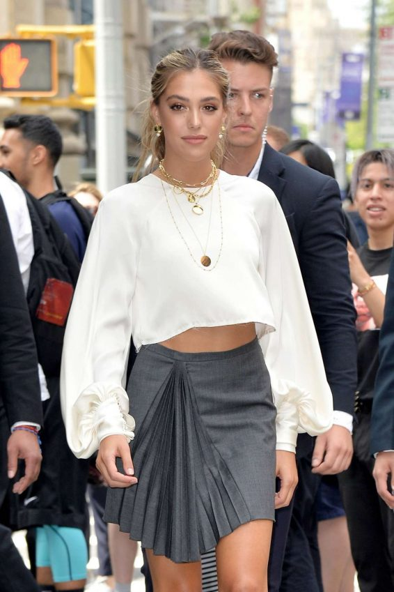 Sistine Stallone - Arrives at Build Studio in New York