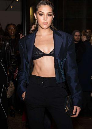 Sistine Stallone - Leaving Prabal Gurung Fashion Show 2018 in NY