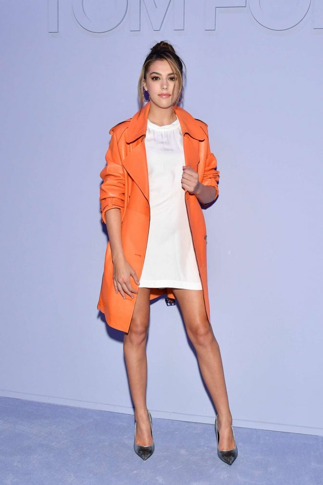 Sistine Stallone - Tom Ford Fashion Show FW 2018 in NY