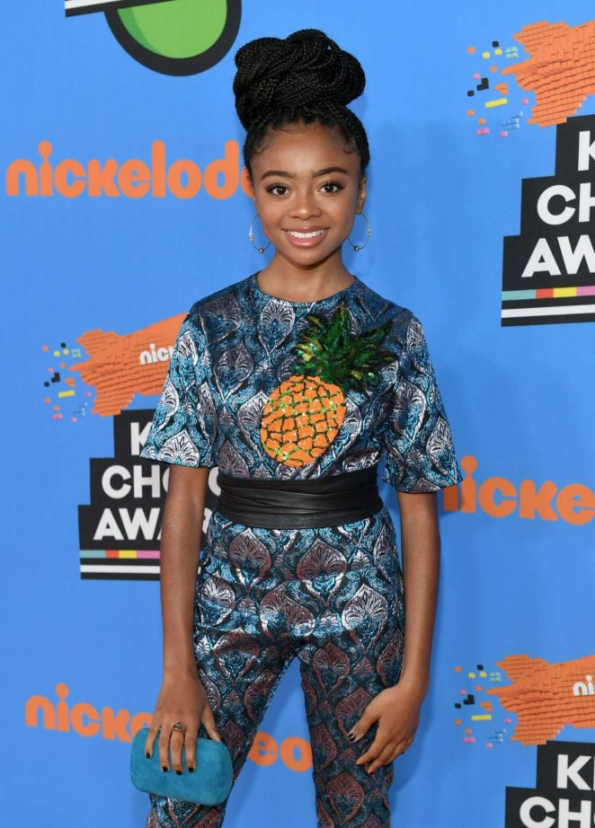 Skai Jackson - 2018 Nickelodeon Kids' Choice Awards in Los Angeles
