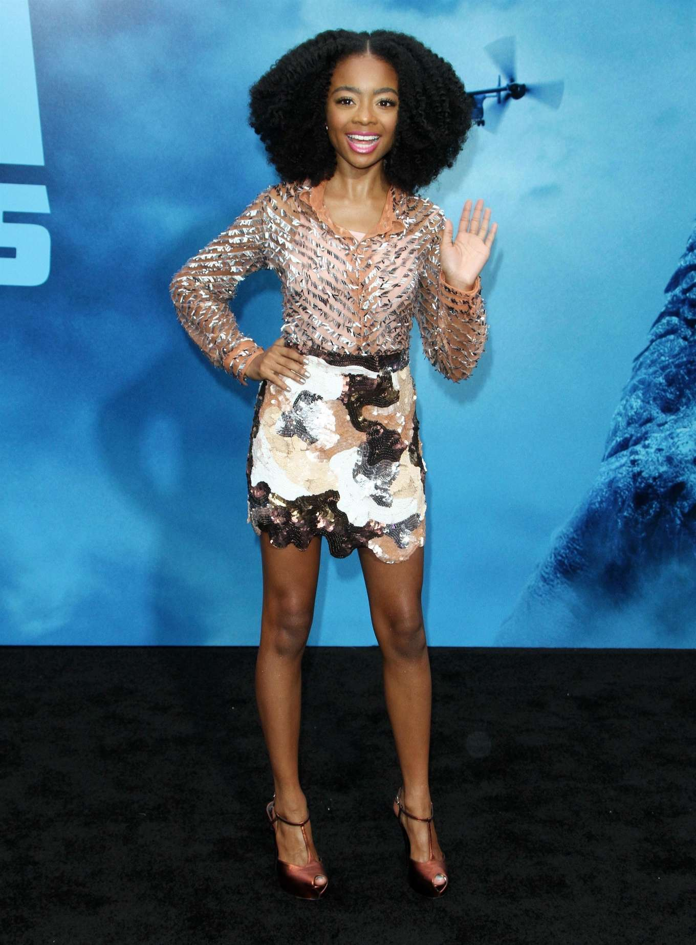 Skai Jackson - 'Godzilla: King Of The Monsters' Premiere in Hollywood