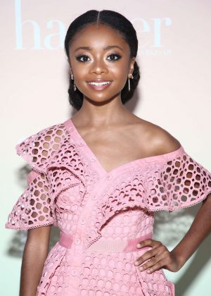 Skai Jackson - Harper by Harper's BAZAAR Party in Los Angeles