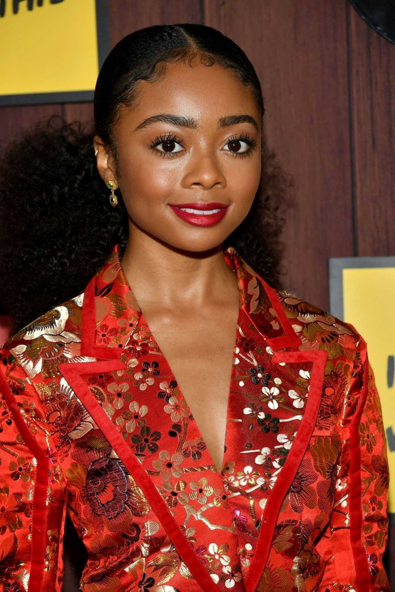 Skai Jackson - 'I Am Not Okay With This' Photocall in West Hollywood